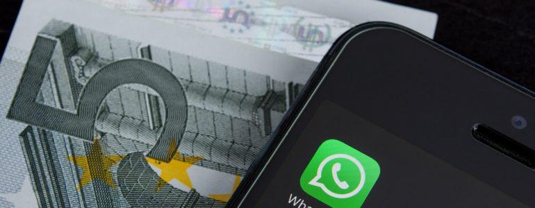 Whatsapp Pay: Chi paga la cena? Dividiamo? Novità in casa Facebook
